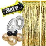 Set addobbi per il tavolo della torta o photobooth – Compleanno adulto donna 18,30,40,50 e 60 anni (personalizzabile)