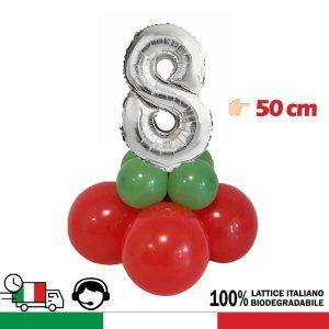 palloncini rossi verdi