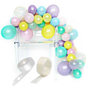 ghirlanda palloncini pastello