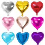 Palloncino in foil a forma di cuore – Varie misure e colori