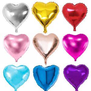 Polloncino forma cuore foil