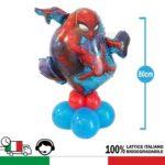 KIT centrotavola personaggio disney Spiderman. Hobby creativi per festa a tema compleanno Uomo Ragno