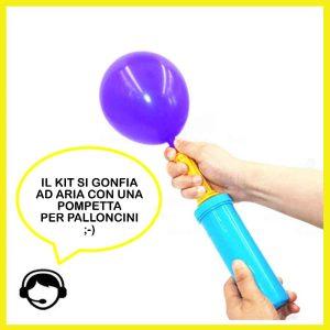 pompetta palloncini compleanno