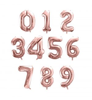 Palloncino in foil a forma di numero