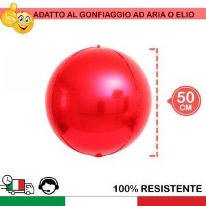sfere rosse natale palloni