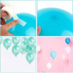 Gocce di colla invisibili per palloncini – 100 pezzi