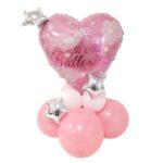 Kit palloncino centrotavola ideale per addobbi battesimo bimba o come idea regalo per mamme creative.