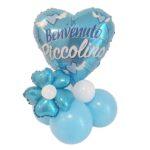 Kit palloncino centrotavola nascita babyshower neonato ideale per addobbi festa benvenuta piccolino. Idea regalo per mamme creative.