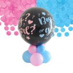 Kit palloncino centrotavola babyshower per annunciare il sesso del neonato
