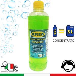 liquido bolle di sapone