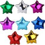 Palloncini in foil a forma di stella – Varie misure e colori