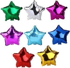 palloncini forma stella