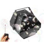 Macchina sparabolle di Sapone elettrica professionale con telecomando wireless
