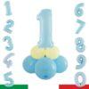 kit numero palloncini